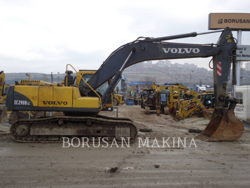VOLVO PELLE MINIERE EN BUTTE EC290 equipment  photo 1