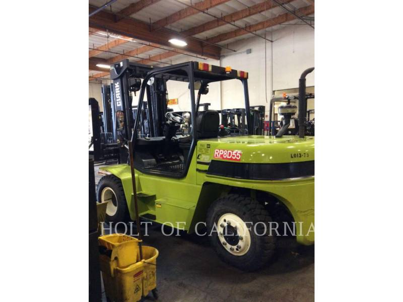 CLARK FORKLIFTS C70D equipment  photo 3