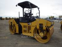 Equipment photo CATERPILLAR CB 54 B TANDEMOWY WALEC WIBRACYJNY DO ASFALTU (STAL-STAL) 1