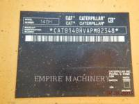 CATERPILLAR MOTONIVELADORAS 140HNA equipment  photo 6