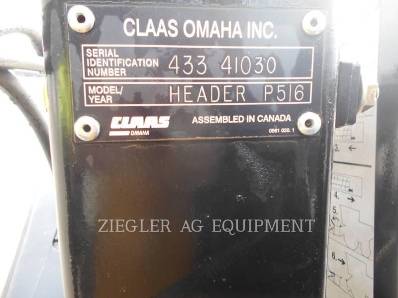 LEXION COMBINE Cabezales P516 equipment  photo 8