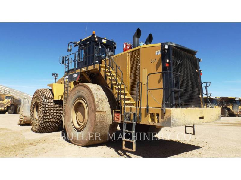 CATERPILLAR CHARGEURS SUR PNEUS MINES 993K equipment  photo 3