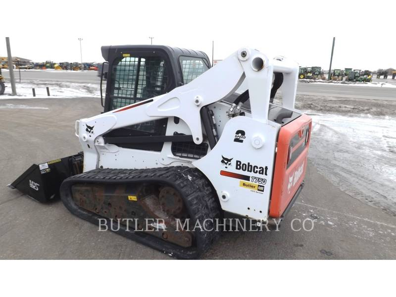 BOBCAT CHARGEURS COMPACTS RIGIDES T750 equipment  photo 3