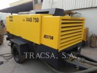 Equipment photo ATLAS-COPCO XAS750CD6 AIR COMPRESSOR 1