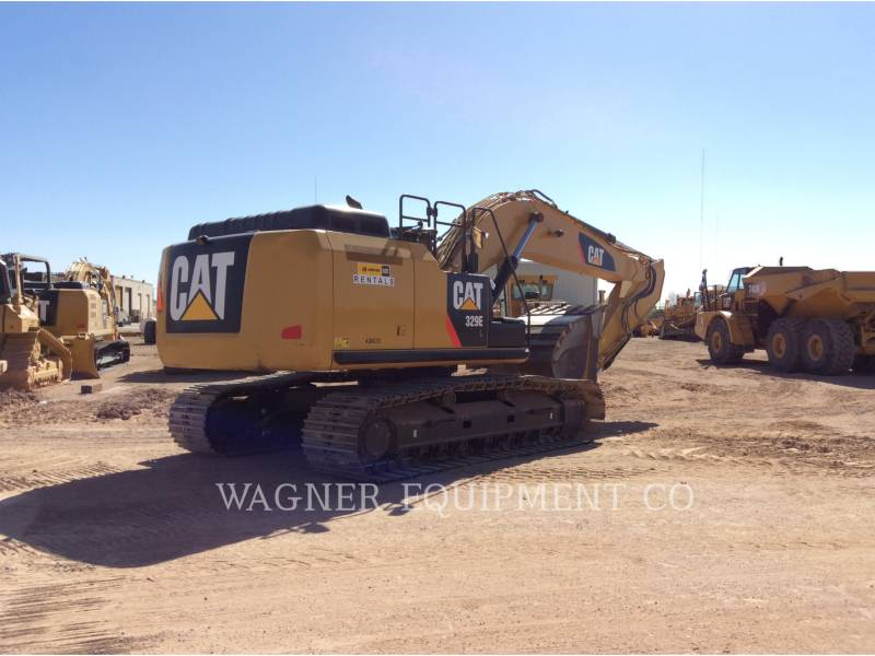CATERPILLAR PELLES SUR CHAINES 329EL TC equipment  photo 3