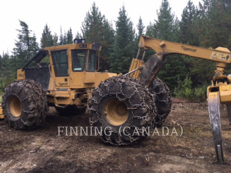 TIGERCAT FORESTAL - ARRASTRADOR DE TRONCOS 630D equipment  photo 1