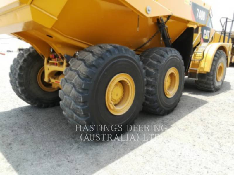 CATERPILLAR ARTICULATED TRUCKS 740B equipment  photo 12