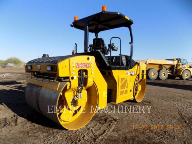 CATERPILLAR TANDEMVIBRATIONSWALZE, ASPHALT CB10 equipment  photo 2