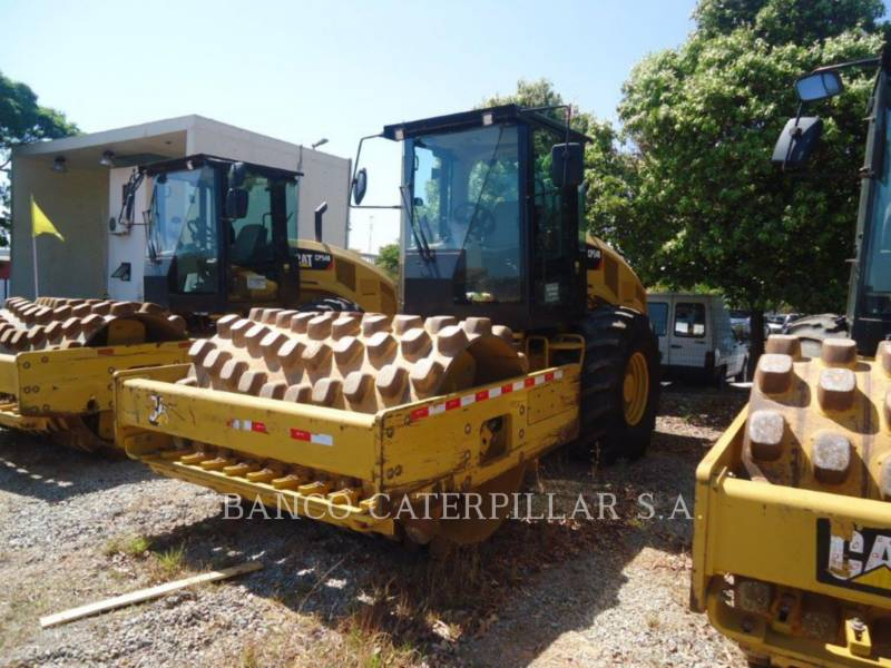 CATERPILLAR ACOLCHOADO DO TAMBOR ÚNICO VIBRATÓRIO CP54B equipment  photo 2