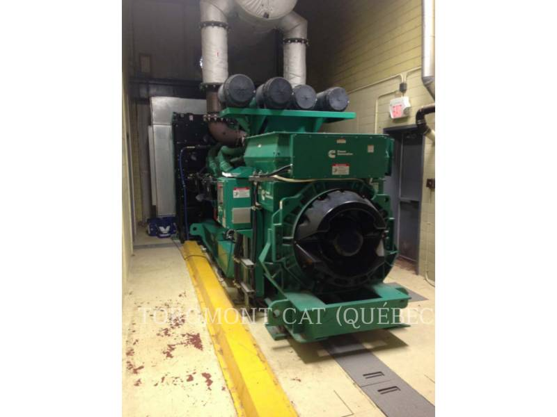 CUMMINS STATIONÄRE STROMAGGREGATE DQKC-5753789_2000KW_4160VOLTS equipment  photo 1