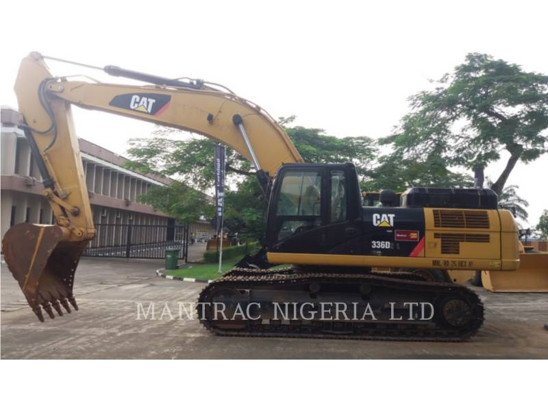 CATERPILLAR TRACK EXCAVATORS 336 D equipment  photo 2