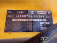 CATERPILLAR CHARGEURS COMPACTS RIGIDES 259D equipment  photo 15