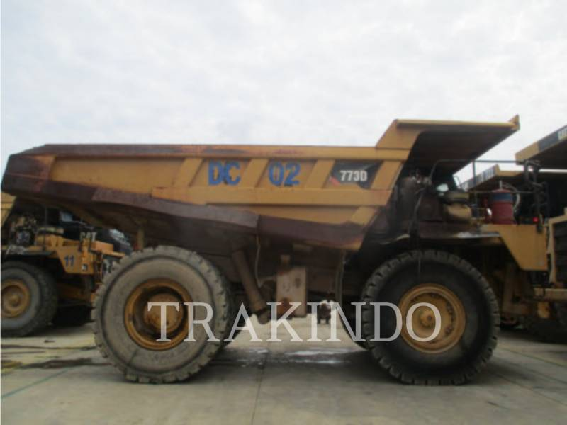 CATERPILLAR DUMPER A TELAIO RIGIDO 773DLRC equipment  photo 4