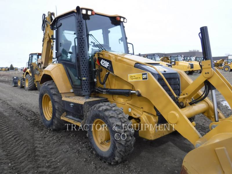 CATERPILLAR BACKHOE LOADERS 420F2 4ECB equipment  photo 3