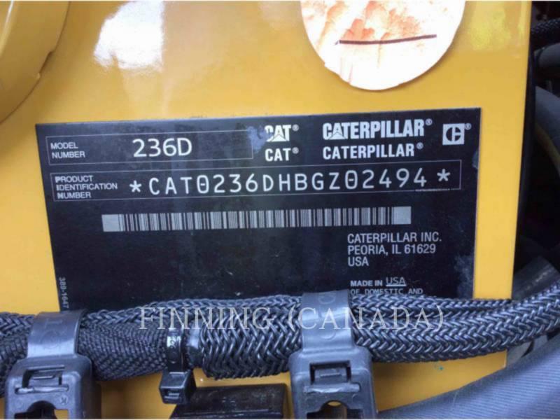 CATERPILLAR ŁADOWARKI ZE STEROWANIEM BURTOWYM 236D equipment  photo 6