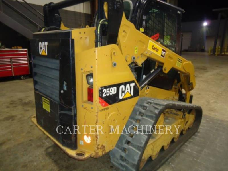 CATERPILLAR KOMPAKTLADER 259D ACW equipment  photo 2