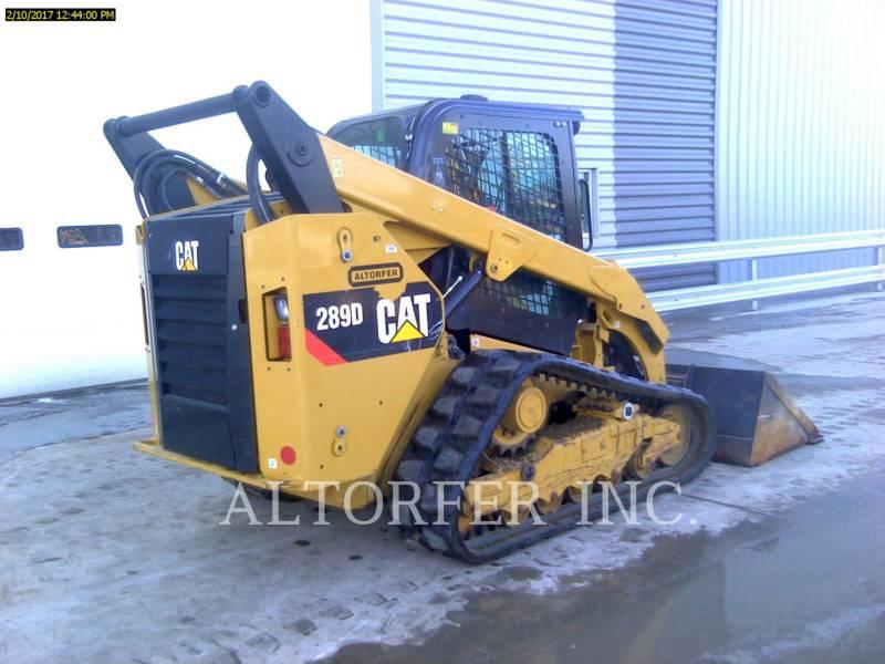 CATERPILLAR SKID STEER LOADERS 289D equipment  photo 4