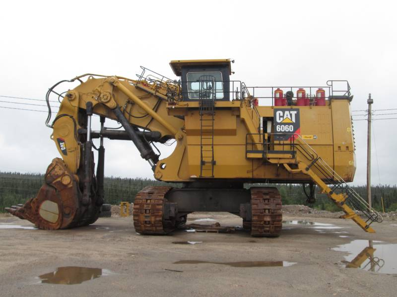 CATERPILLAR PELLE MINIERE EN BUTTE 6060FS equipment  photo 7