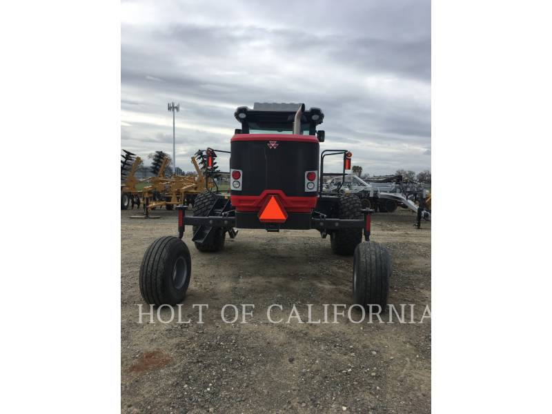 MASSEY FERGUSON AG WINDROWERS 9740   GT10805 equipment  photo 2