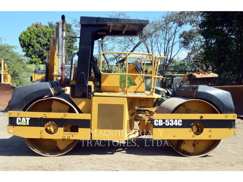 CATERPILLAR TANDEMOWY WALEC WIBRACYJNY DO ASFALTU (STAL-STAL) CB-534C equipment  photo 8