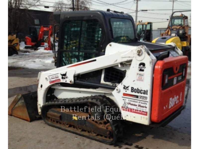 BOBCAT MULTI TERRAIN LOADERS T450 equipment  photo 7