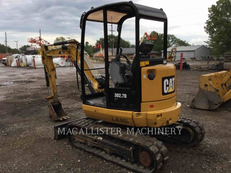 CATERPILLAR PELLES SUR CHAINES 302.7D equipment  photo 4