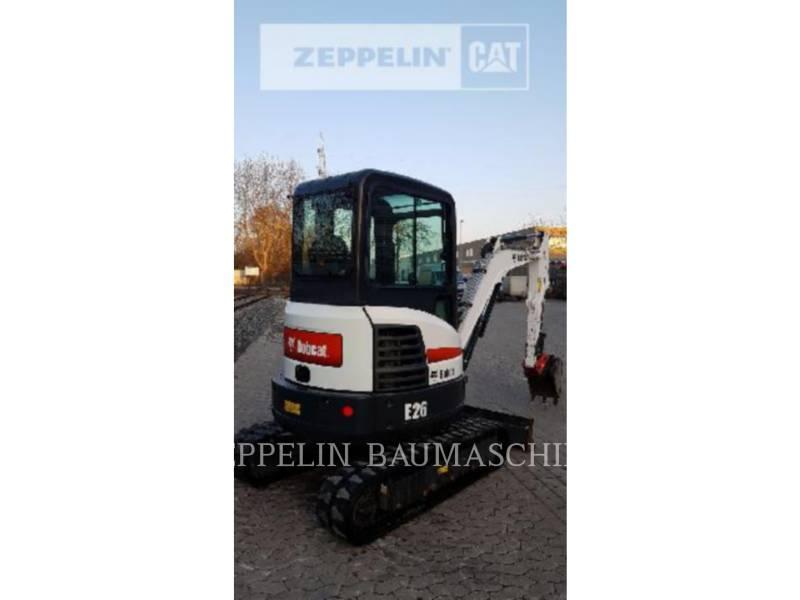 BOBCAT TRACK EXCAVATORS E26 equipment  photo 7