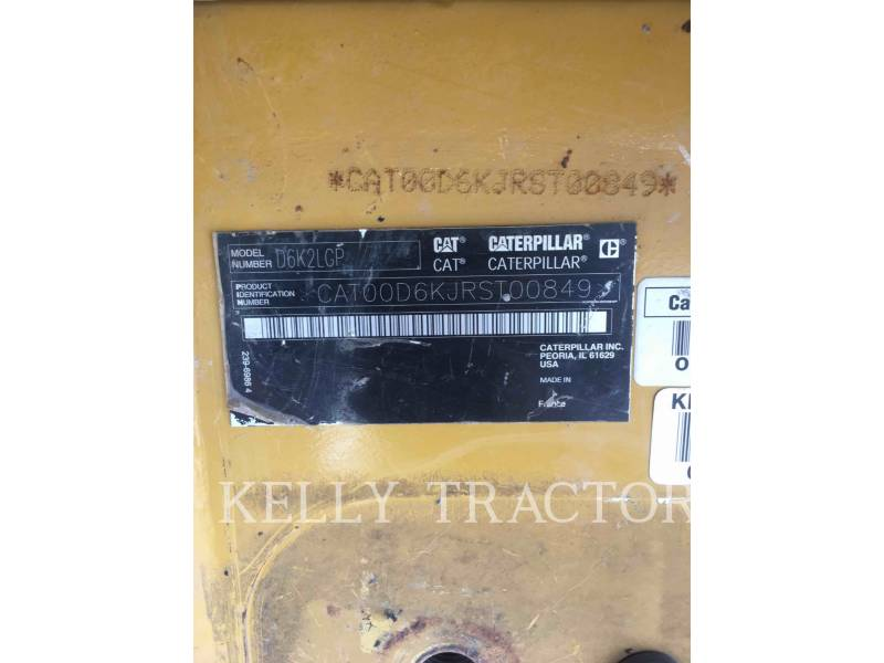 CATERPILLAR TRATORES DE ESTEIRAS D6K2LGP equipment  photo 18