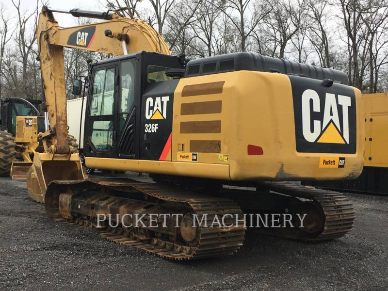 CATERPILLAR EXCAVADORAS DE CADENAS 326F equipment  photo 2