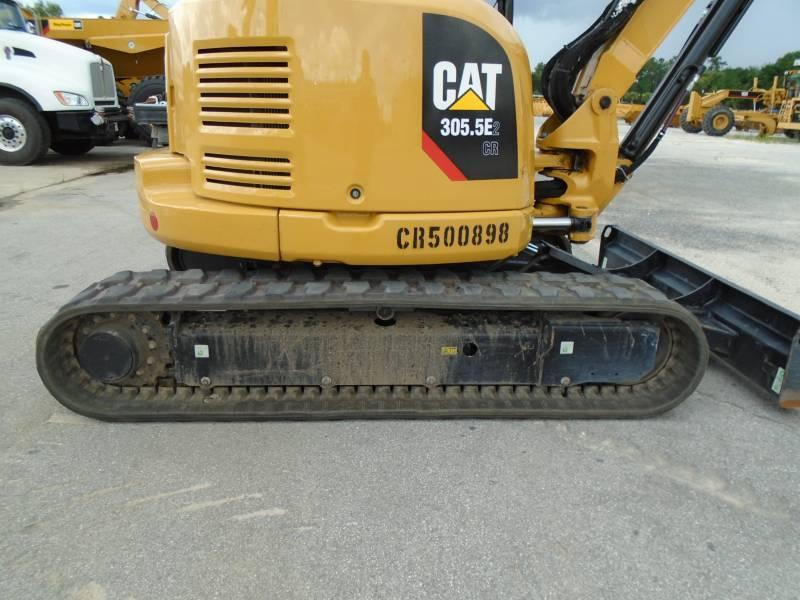 CATERPILLAR KETTEN-HYDRAULIKBAGGER 305.5E2CR equipment  photo 11