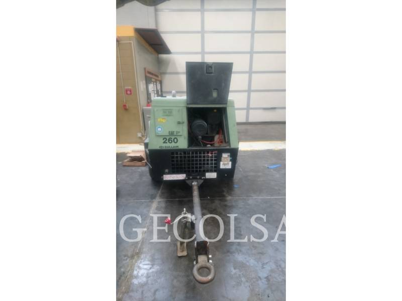 SULLAIR COMPRESSEUR A AIR 260DPQ equipment  photo 1