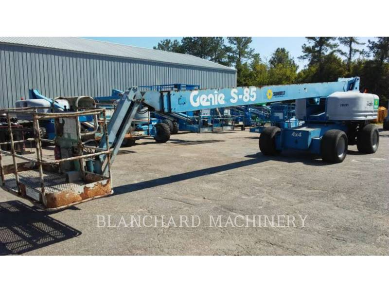 GENIE INDUSTRIES LIFT - BOOM S85 equipment  photo 1
