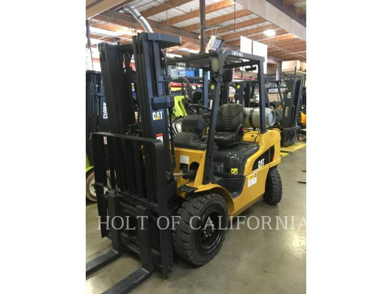 CATERPILLAR MITSUBISHI FORKLIFTS P6000-LE equipment  photo 1