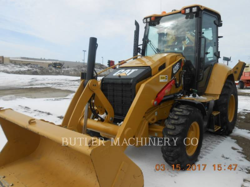CATERPILLAR BACKHOE LOADERS 420 F 2 equipment  photo 1