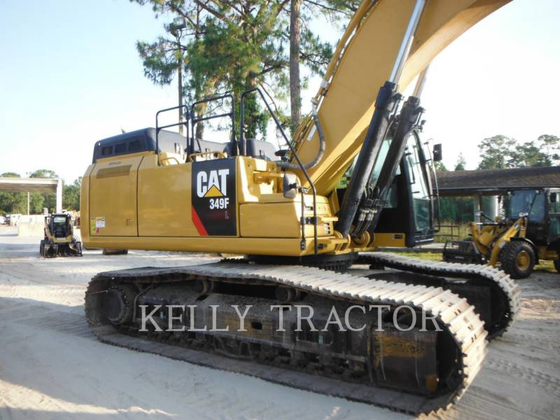 CATERPILLAR KOPARKI GĄSIENICOWE 349FL equipment  photo 5