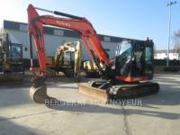 Equipment photo KUBOTA TRACTOR CORPORATION KX080.4 KOPARKI GĄSIENICOWE 1