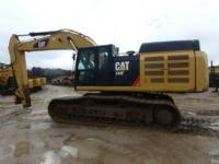 CATERPILLAR KETTEN-HYDRAULIKBAGGER 349FL equipment  photo 1