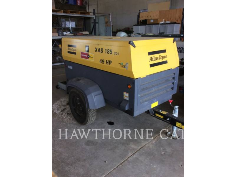 ATLAS-COPCO AIR COMPRESSOR (OBS) 185 XAS equipment  photo 6