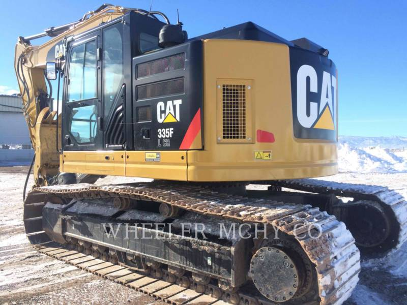 CATERPILLAR TRACK EXCAVATORS 335F CR CF equipment  photo 9
