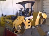 Equipment photo CATERPILLAR CB54XW COMPACTEURS TANDEMS VIBRANTS 1