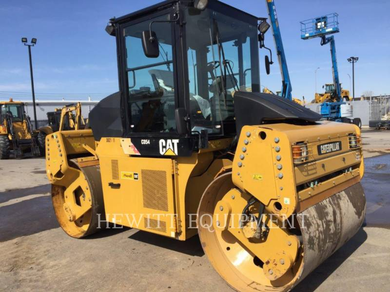 CATERPILLAR TAMBOR DOBLE VIBRATORIO ASFALTO CD54 equipment  photo 4