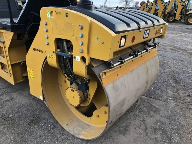 CATERPILLAR TANDEMVIBRATIONSWALZE, ASPHALT CB54B equipment  photo 8