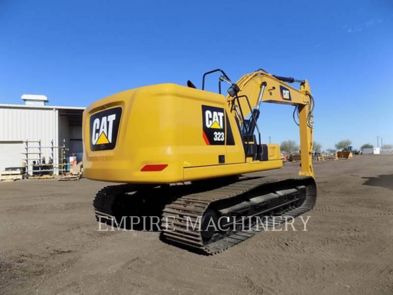 CATERPILLAR TRACK EXCAVATORS 323-07 equipment  photo 2