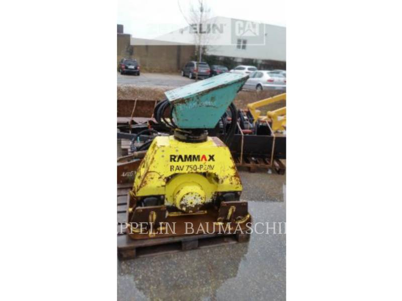 RAMMAX WT - COMPACTEURS A PLAQUE Prim.-Prod. Komponen equipment  photo 1