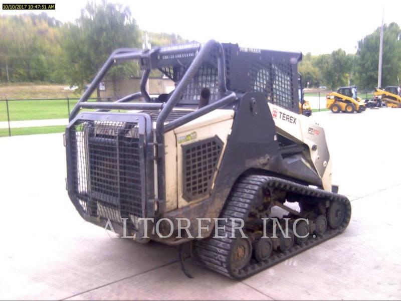 TEREX CORPORATION SKID STEER LOADERS PT110F equipment  photo 3