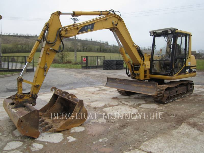 CATERPILLAR TRACK EXCAVATORS 307B equipment  photo 12