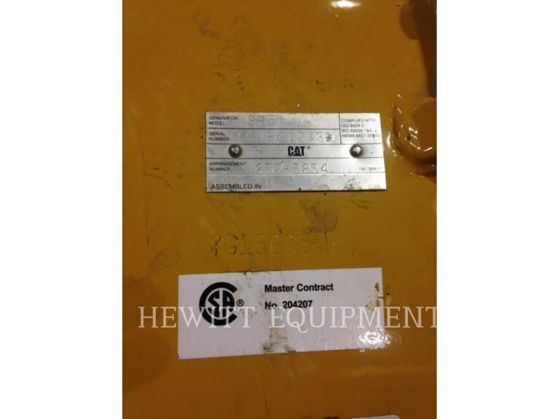 CATERPILLAR COMPONENTES DE SISTEMAS 1500KW 480 VOLTS 60HZ SR5 equipment  photo 7