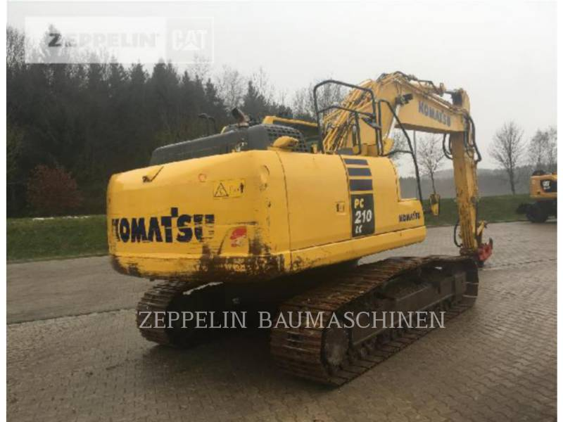 KOMATSU LTD. RUPSGRAAFMACHINES PC210-10 equipment  photo 5