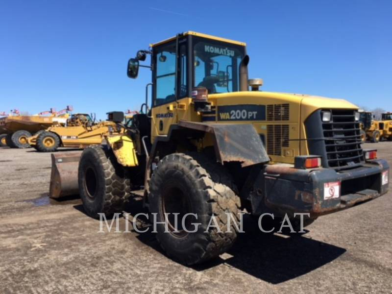 KOMATSU WHEEL LOADERS/INTEGRATED TOOLCARRIERS WA200PT-5 equipment  photo 4