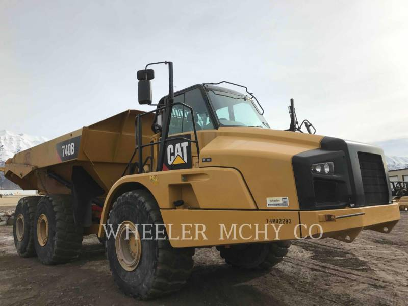 CATERPILLAR DUMPER ARTICOLATI 740B TG equipment  photo 2